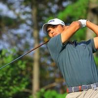 アジーテシュ・サンドゥは本日-5で大躍進した 2019年 パナソニックオープンゴルフチャンピオンシップ 2日目 アジーテシュ・サンドゥ