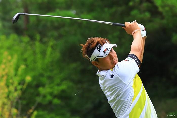 汗も滴るいい男 2019年 パナソニックオープンゴルフチャンピオンシップ 2日目 塚田陽亮