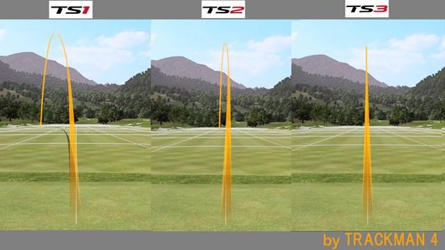 タイトリスト TS1 ドライバー/ヘッドスピード別試打 「TS1」が一番弾道が高く吹け上がり気味