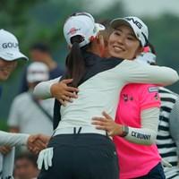 首位タイで最終日へ。 2019年 ミヤギテレビ杯ダンロップ女子オープン 2日目 比嘉真美子