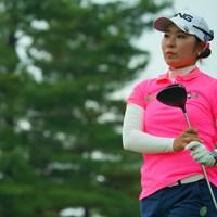 開幕戦以来の優勝を狙います。 2019年 ミヤギテレビ杯ダンロップ女子オープン 2日目 比嘉真美子