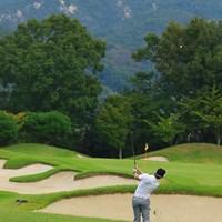 東広野ゴルフ倶楽部は高低差があるコースです 2019年 パナソニックオープンゴルフチャンピオンシップ 3日目 石川遼