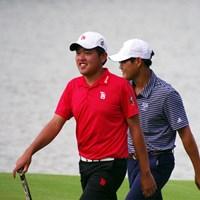 首位で最終日を迎える米澤蓮 2019年 アジアパシフィックアマチュアゴルフ選手権 3日目 米澤蓮