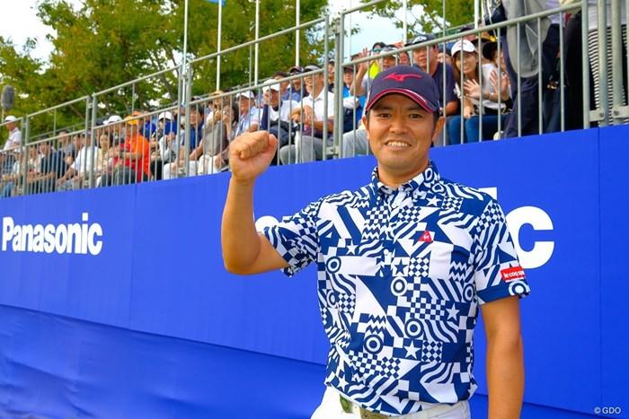 武藤俊憲は4年ぶりの優勝を手にした 2019年 パナソニックオープンゴルフチャンピオンシップ 最終日 武藤俊憲