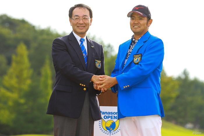 パナソニック会長と 2019年 パナソニックオープンゴルフチャンピオンシップ 最終日 武藤俊憲