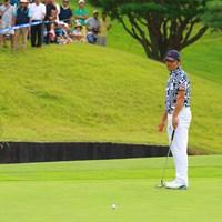 18番ホールは惜しくもパー! 2019年 パナソニックオープンゴルフチャンピオンシップ 最終日 武藤俊憲