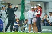2019年 日本女子オープンゴルフ選手権 事前 吉本ひかる 田中瑞希 新垣比菜