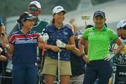 2019年 日本女子オープンゴルフ選手権 事前 青木瀬令奈 渋野日向子 成田美寿々