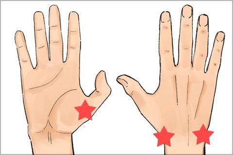筋肉 痛 親指 の 付け根