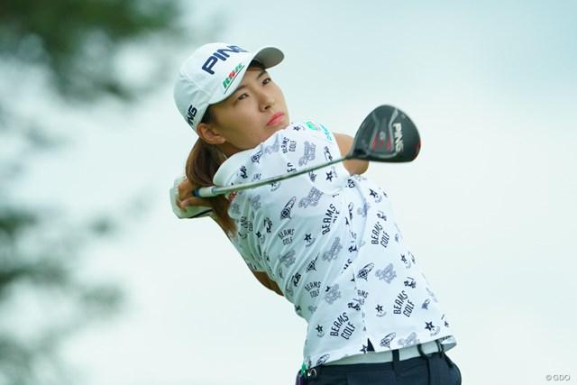 2019年 日本女子オープンゴルフ選手権  初日 渋野日向子 渋野日向子は国内メジャーで好発進を決めた