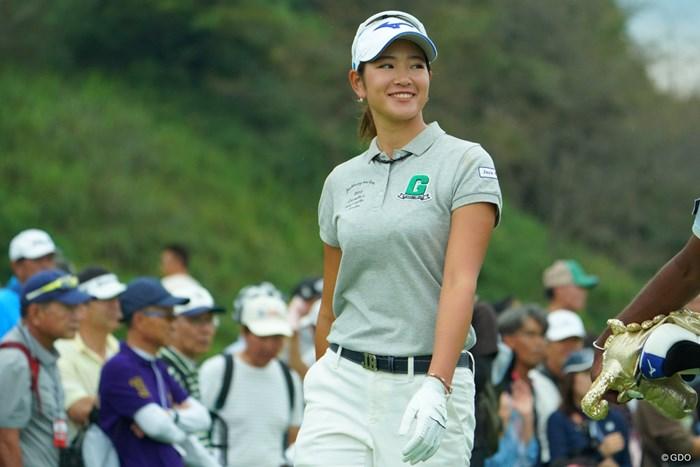 2勝目はメジャーで決めます! 2019年 日本女子オープンゴルフ選手権 初日 原英莉花