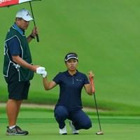 バックナインでスパーク!首位タイ発進! 2019年 日本女子オープンゴルフ選手権 初日 岡山絵里