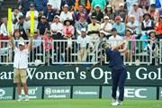 2019年 日本女子オープンゴルフ選手権 初日 岡山絵里