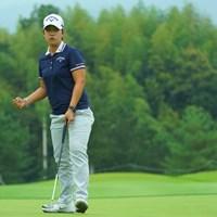 首位タイスタート!17番ではガッツポーズも飛び出した! 2019年 日本女子オープンゴルフ選手権 初日 ペ・ヒギョン