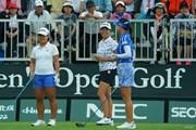 2019年 日本女子オープンゴルフ選手権 初日 畑岡奈紗 渋野日向子 ユ・ソヨン