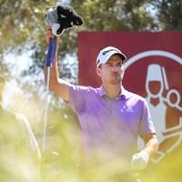 首位で発進したニック・テイラー(Stan Badz/PGA TOUR via Getty Images) 2020年 シュライナーズホスピタルforチルドレンオープン 初日 ニック・テイラー