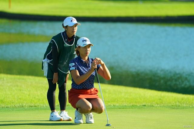 2019年 日本女子オープンゴルフ選手権  2日目 渋野日向子 渋野日向子が2日目を終えた