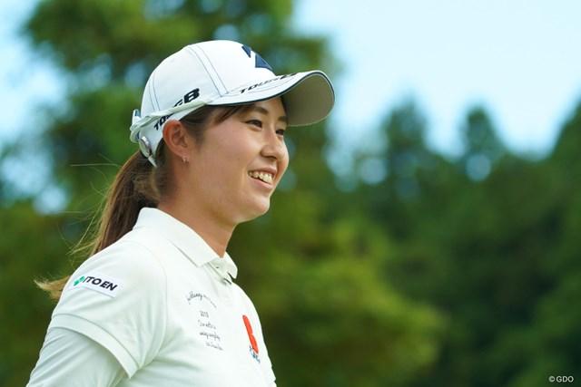 2019年 日本女子オープンゴルフ選手権  2日目 大里桃子 トップと1打差の2位で決勝ラウンドに進出した大里桃子