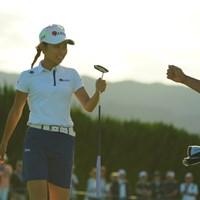 アマチュアの安田祐香はローアマが見える位置で予選通過した 2019年 日本女子オープンゴルフ選手権  2日目 安田祐香