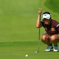 決勝ラウンドもパッティングの争いになりそうだ。 2019年 日本女子オープンゴルフ選手権 2日目 原英莉花