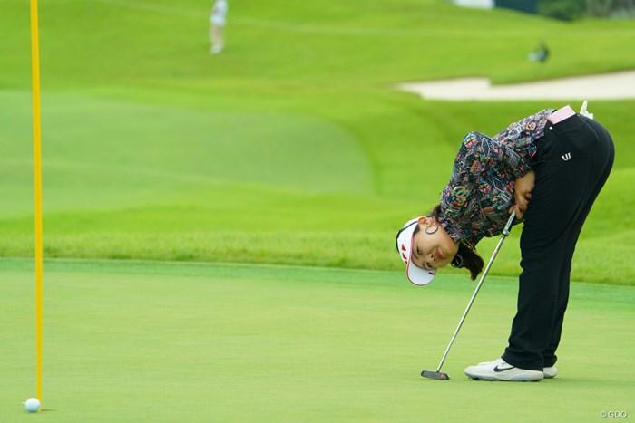 アルムの気持ち、察してあげてください。 2019年 日本女子オープンゴルフ選手権 2日目 黄アルム