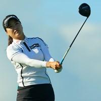 スポットで参戦して、ちゃんと上位争い。さすがですなぁ。 2019年 日本女子オープンゴルフ選手権 2日目 ユ・ソヨン