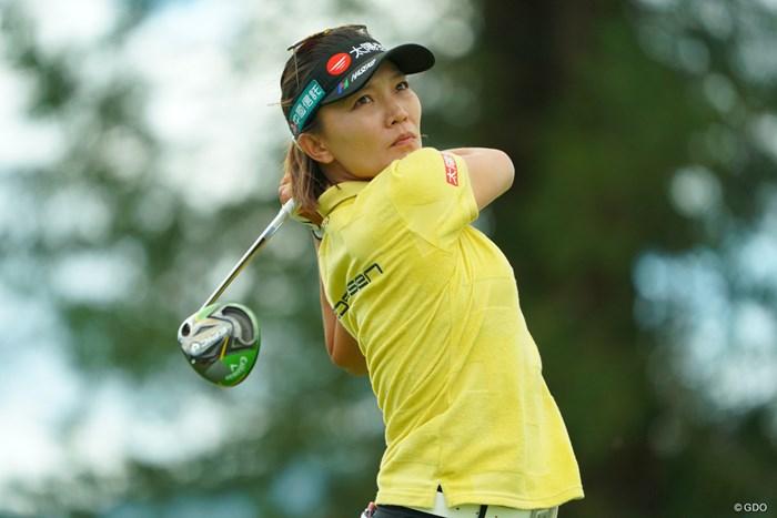 久々の優勝、メジャータイトルで決めたいね。 2019年 日本女子オープンゴルフ選手権 2日目 テレサ・ルー