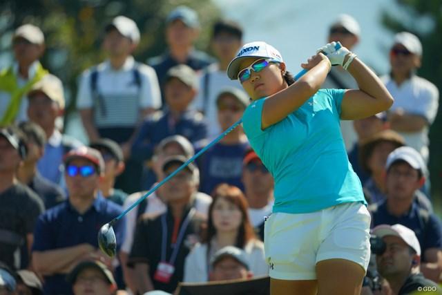 2019年 日本女子オープンゴルフ選手権 3日目 畑岡奈紗 首位で最終日を迎える畑岡奈紗