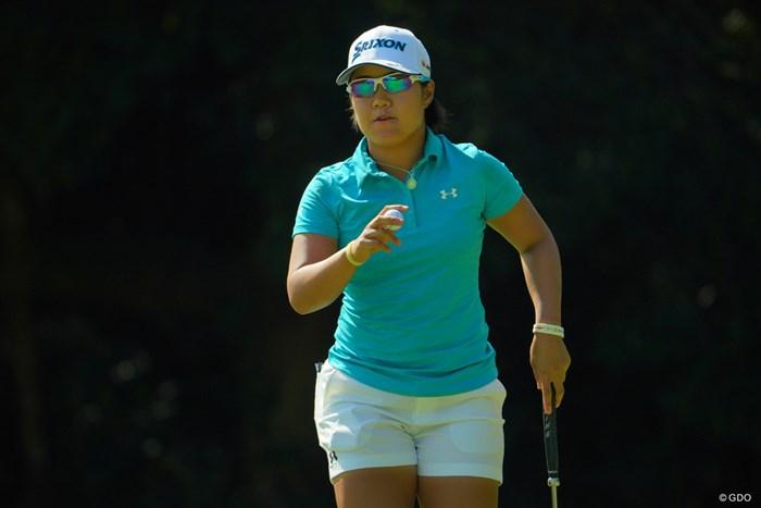 6番、バンカーに捕まるも、楽々バーディ! 2019年 日本女子オープンゴルフ選手権 3日目 畑岡奈紗