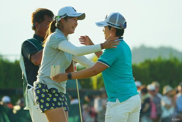 2019年 日本女子オープンゴルフ選手権 3日目 大里桃子 残り18ホール。がんばってくれー!