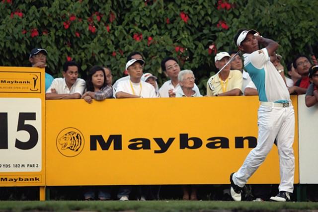 トンチャイ・ジェイディ/メイバンク・マレーシアオープン 第2ラウンドを終え、首位と3打差につけるトンチャイ・ジェイディ(Andrew Redington/Getty Images)