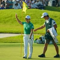 最終18番はチップインバーディ! 2019年 日本女子オープンゴルフ選手権 3日目 申ジエ