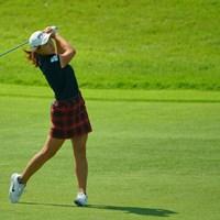 アイアンショットは悪くないはず。 2019年 日本女子オープンゴルフ選手権 3日目 渋野日向子