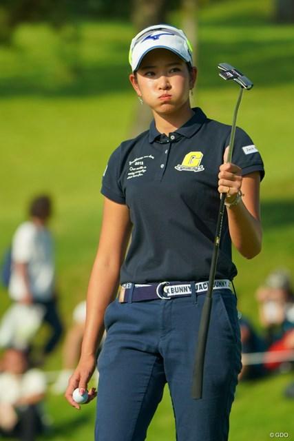 2019年 日本女子オープンゴルフ選手権 3日目 原英莉花 スコアが悪くても絵になるのはスターの証拠だよ。
