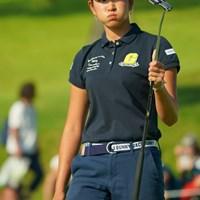 スコアが悪くても絵になるのはスターの証拠だよ。 2019年 日本女子オープンゴルフ選手権 3日目 原英莉花