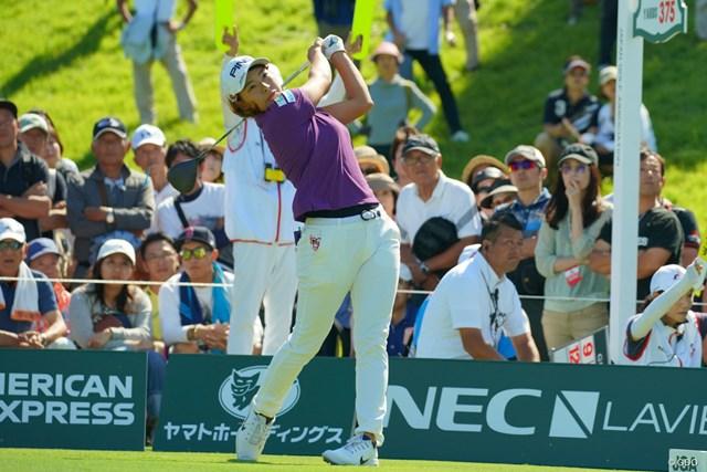 2019年 日本女子オープンゴルフ選手権  最終日 渋野日向子 前半は我慢のゴルフとなった渋野日向子