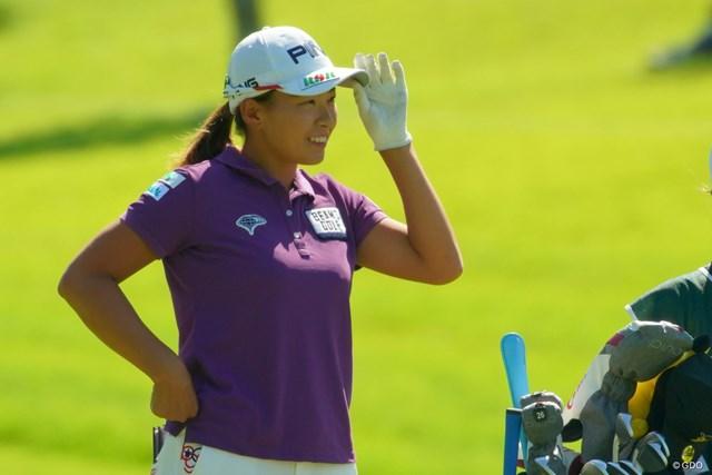 2019年 日本女子オープンゴルフ選手権  最終日 渋野日向子 渋野日向子は逆転を目指したが届かず