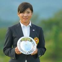 9位でローアマチュアに輝いた梶谷翼 2019年 日本女子オープンゴルフ選手権 最終日 梶谷翼