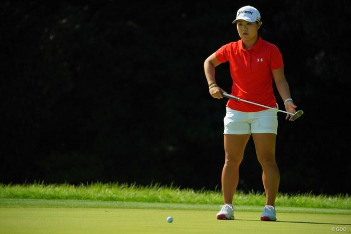 もうどこからでも決めてしまいそうな雰囲気。 2019年 日本女子オープンゴルフ選手権 最終日 畑岡奈紗
