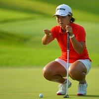 上がって下って、右行って左行って。 2019年 日本女子オープンゴルフ選手権 最終日 畑岡奈紗