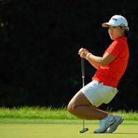 体幹が強いと思います。 2019年 日本女子オープンゴルフ選手権 最終日 畑岡奈紗