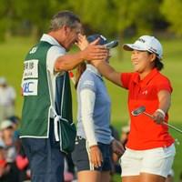 良いキャディに巡り合う事もプロゴルファーとしての運なのか。 2019年 日本女子オープンゴルフ選手権 最終日 畑岡奈紗