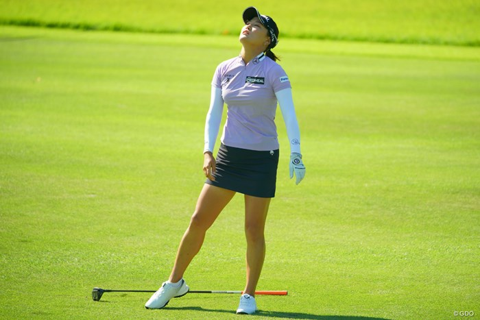 今日の本命かと思っていたのですが。 2019年 日本女子オープンゴルフ選手権 最終日 ユ・ソヨン