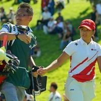 9位タイフィニッシュでローアマ獲得です。おめでとう! 2019年 日本女子オープンゴルフ選手権 最終日 梶谷翼