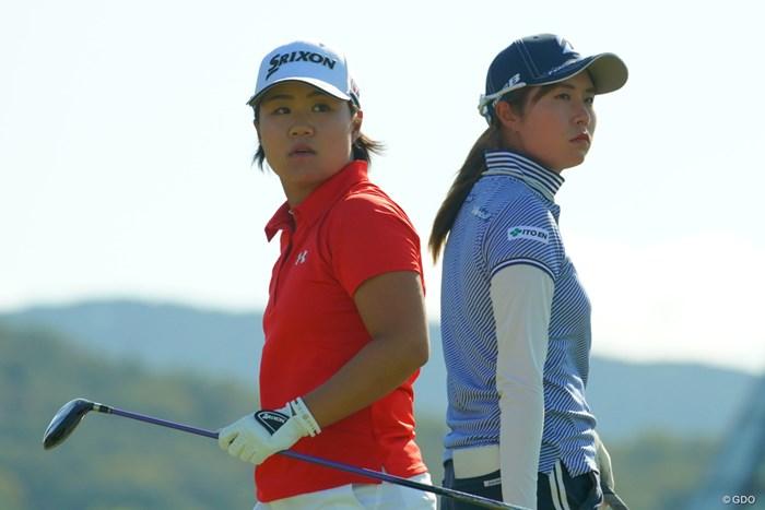 これから何度も優勝争いをしそうな2人。 2019年 日本女子オープンゴルフ選手権 最終日 畑岡奈紗 大里桃子