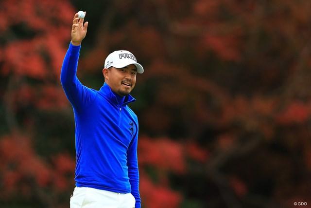 小平智が連覇をかけて出場する※写真は昨年の「ゴルフ日本シリーズJTカップ」
