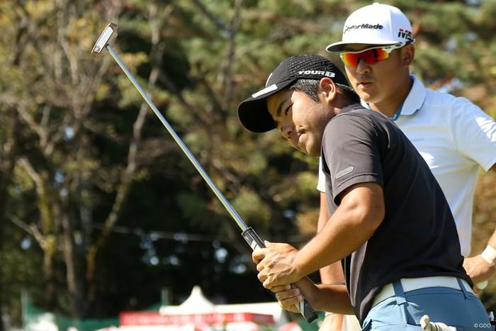 比嘉一貴(左)は現在賞金ランク11位 比嘉一貴 佐藤大平