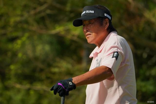 2019年 ブリヂストンオープンゴルフトーナメント 初日 尾崎将司 尾崎将司は13ホール終了時点で9オーバー。腰痛で棄権した
