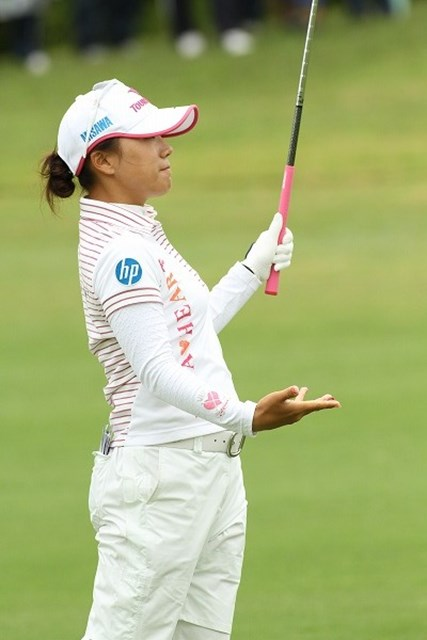 有村智恵/ダイキンオーキッドレディス最終日 開幕戦から2位タイに入り目標の賞金女王獲得に向け好スタートをきった有村智恵