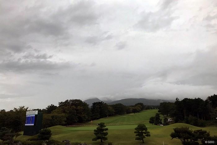 大会は2日目の中止を決めた 2019年 スタンレーレディスゴルフトーナメント 初日 コース